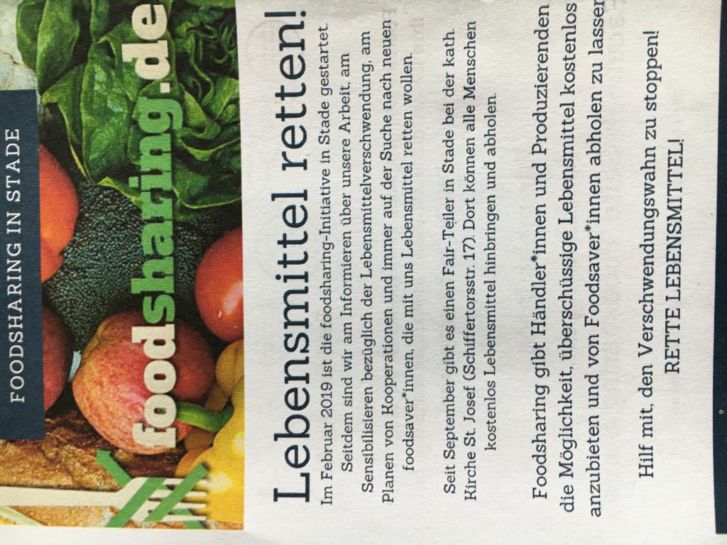 Foodsharing Flyer 1